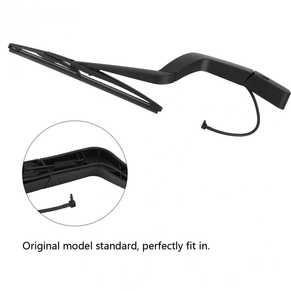 Rear Windshield Wiper Arm and Blade Set for GMC Acadia Saturn Outlook OEM 15276248 15276259