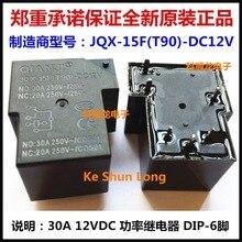 Power-Relay JQX-15F -24vdc30a QIANJI T90 6PINS New New