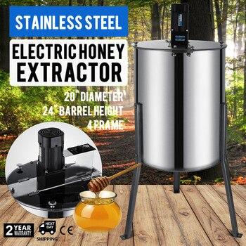 Food Grade Rvs Elektrische Grote Vier 4 Frame Rvs Elektrische Honing Afzuigkap