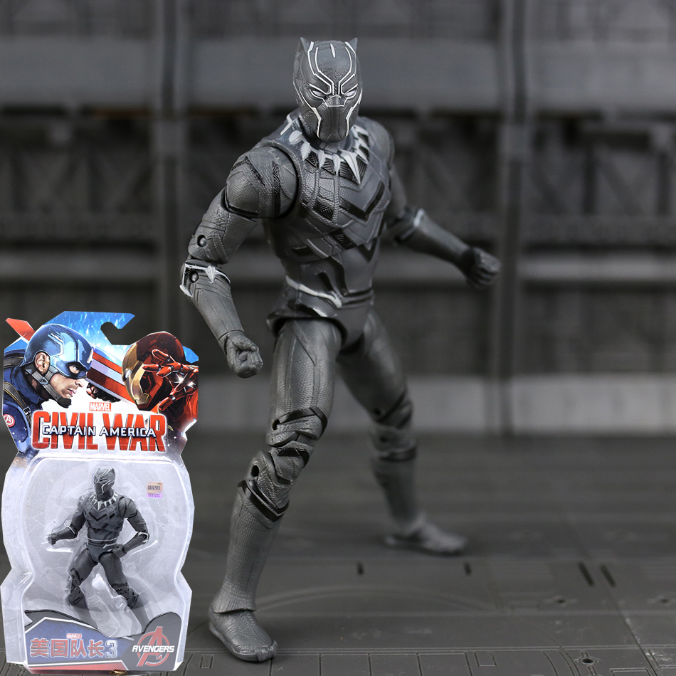 Marvel Avengers Black Panther Black Widow Captain America Scarlet Hawkeye Iron Man War Machine Winter Soldier Ant-Man Figure чистящее средство techpoint powerclean 9 для чистки кожи 500 мл