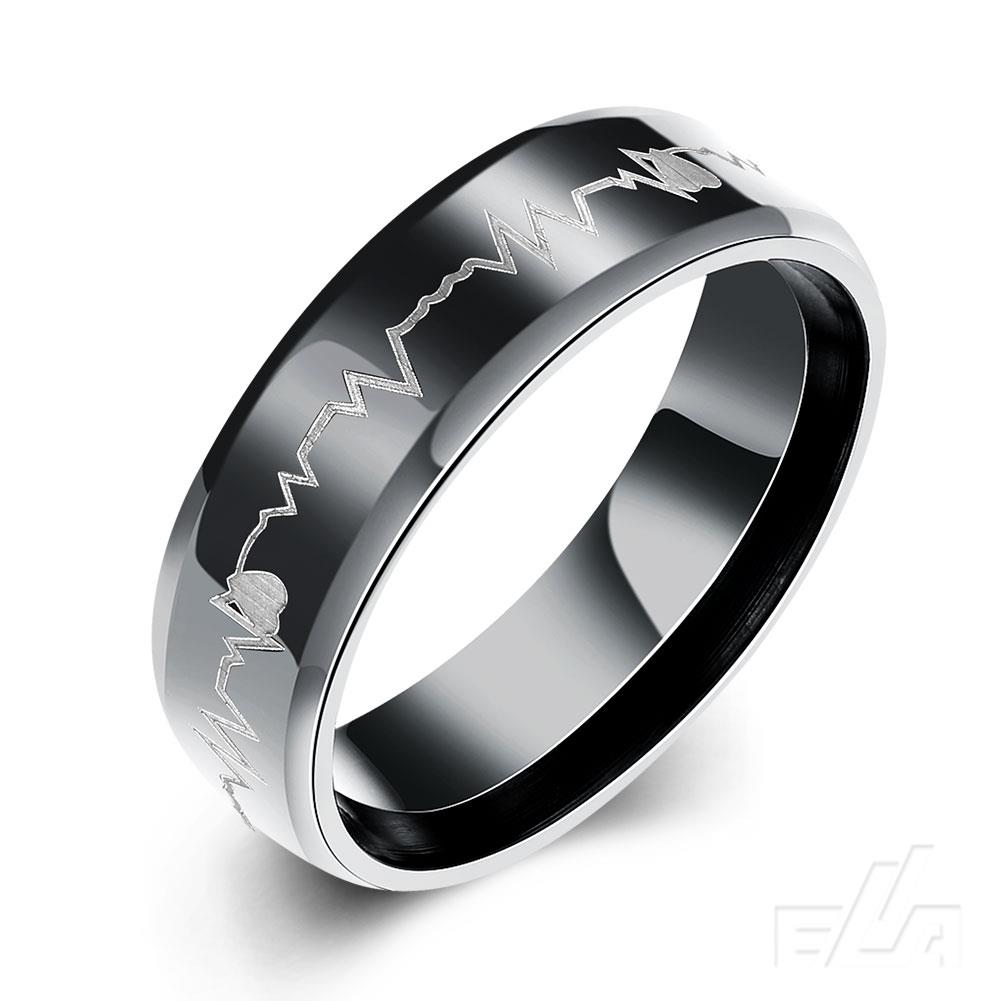 fashion 2016 never fade titanium steel rings for men unique design finger jewelry ring men