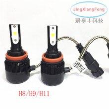 60 W LED פנסי 6400LM ערכת המרה מכונית מנורת נהיגה רכב H1/H7/H8/H9/H11/H3/H4/9005/9006/HB3/HB4 תאורה חיצונית ערפל Lig(China (Mainland))