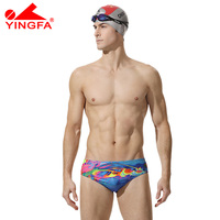 Yingfa 2018 new Boys competitive swimwear swimming kids swim briefs competition swimsuits for men Professional swimsuit Triangle