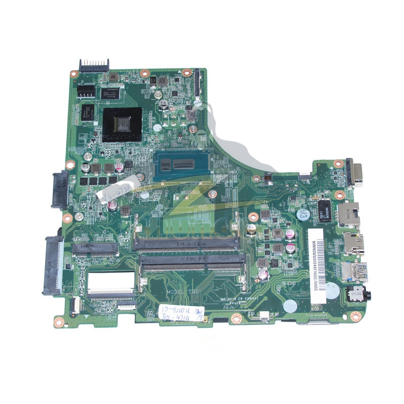 DA0ZQ0MB6E0 REV E N9MN3WW002 N9.MN3WW.002 for acer aspire e5-471g laptop motherboard i5-5200U 820m DDR3L