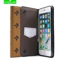 Case For Iphone 7 Plus Classic Retro Flip Leather Case For Iphone 7 7Plus Cover Case