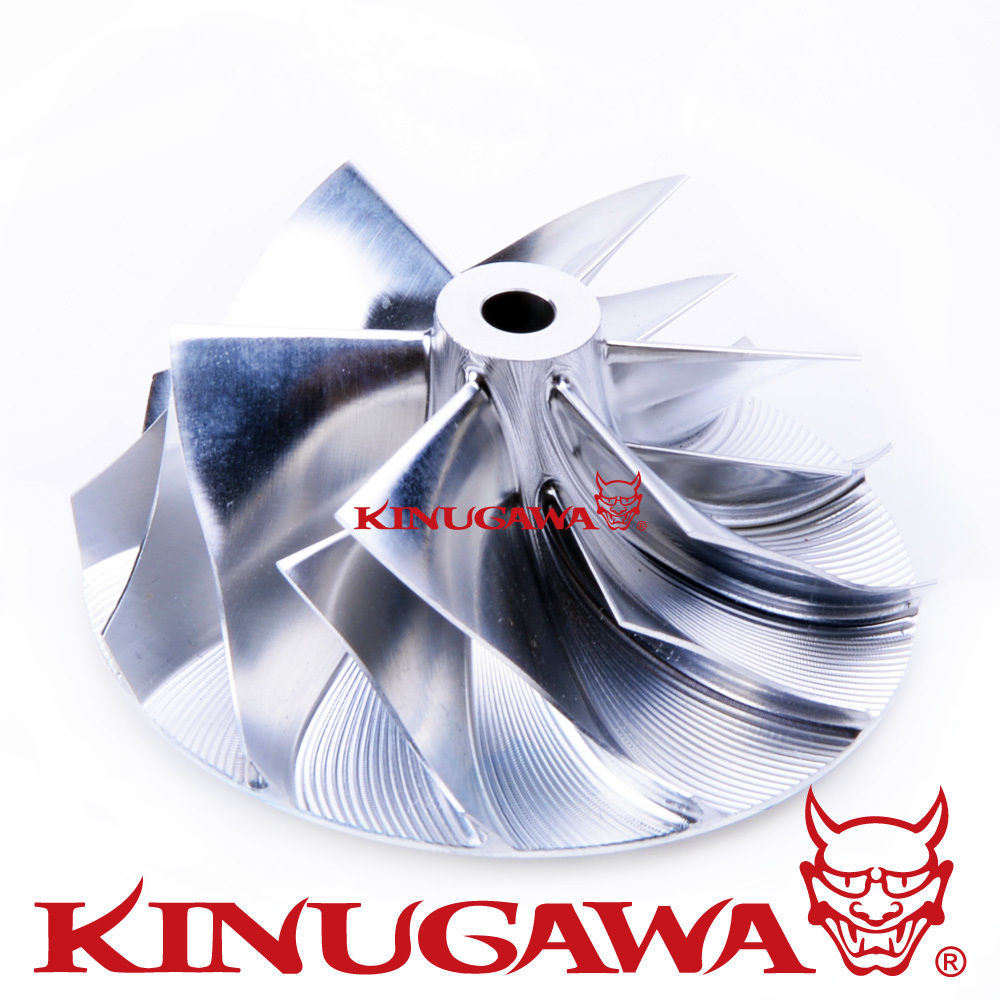 Kinugawa Billet Turbo Compressor Wheel TD04-11G 4D56T Delica for BMW (37.9/49 mm 6+6) meziere wp101b sbc billet elec w p