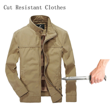 Self-Defense Stab-Resistant Cut-Proof jacket soft Stealth Swat Fbi Hacking Nintend Military Tactics Selfdefense Jacket 2019 New