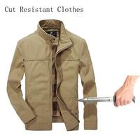 Self Defense Stab Resistant Cut Proof jacket soft Stealth Swat Fbi Hacking Nintend Military Tactics Selfdefense Jacket 2019 New