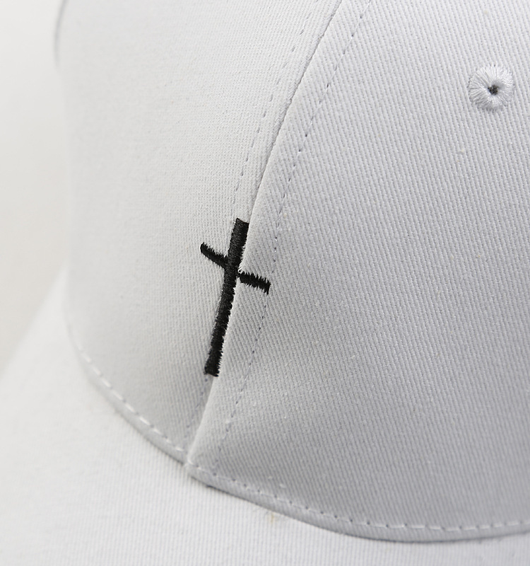 0d71b729d 2018 Embroidery Christian Cross Cotton Cap Baseball Cap casual Snapback Hat  Hip Hop Jesus God Cap hats for Men Women cap