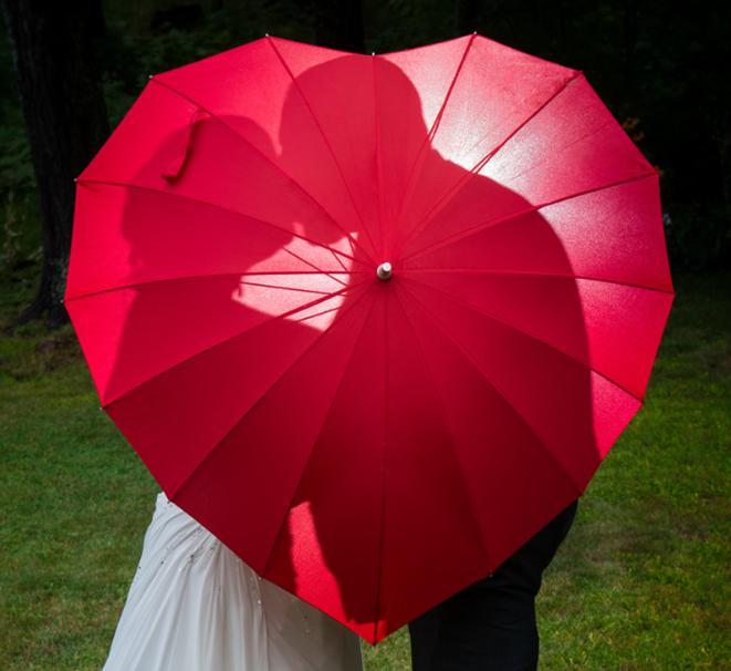 [Mouche aigle] parapluie coeur[Mouche aigle] parapluie coeur