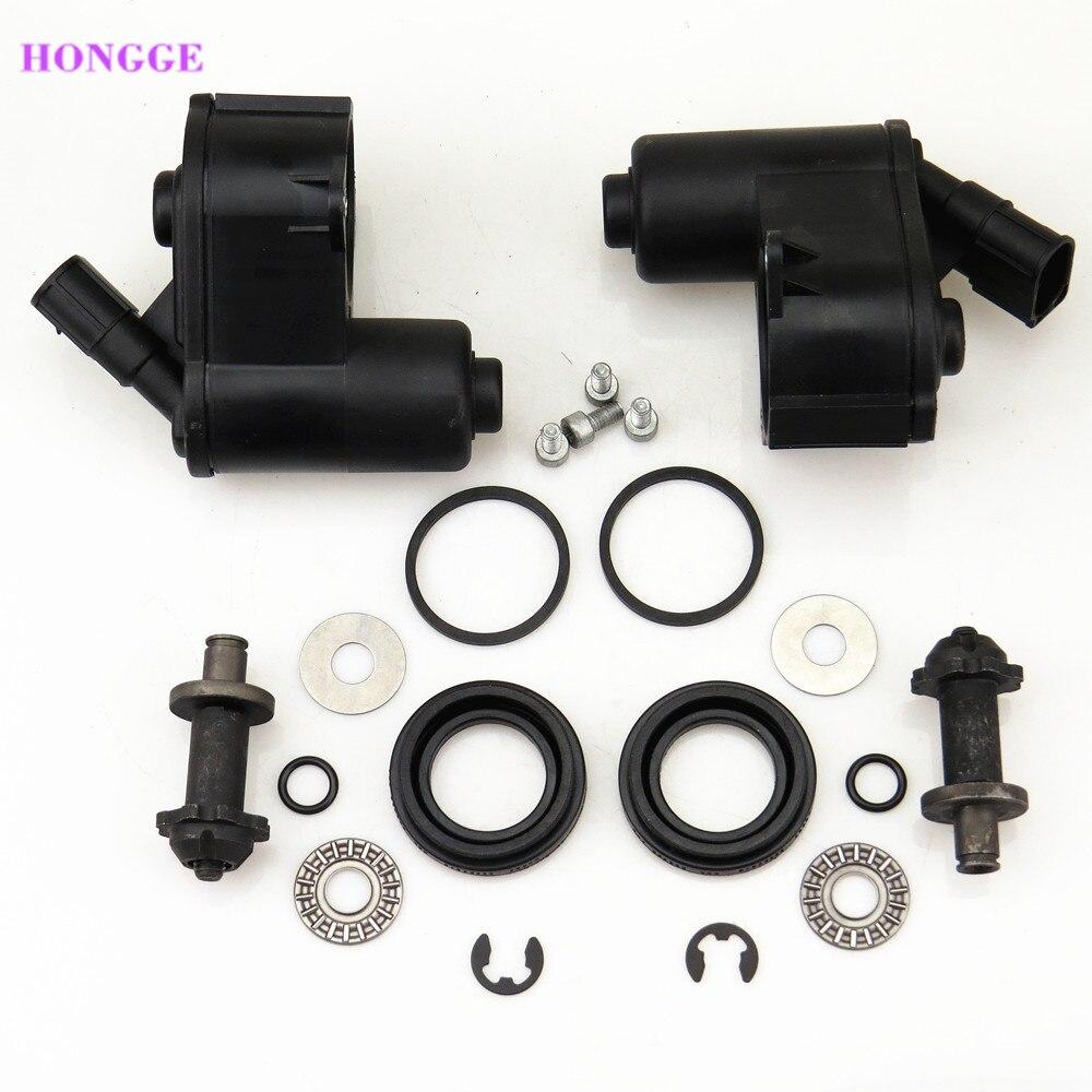 Hongge 12 Torx заднее колесо цилиндр тормозной Servo Двигатель суппорта Набор для A6 Q3 Seat Alhambra 32332082 32332082 г 32326315 4F0615404C