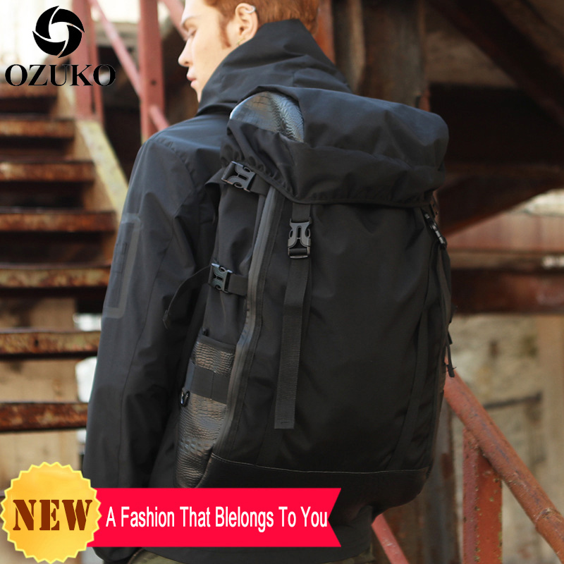 2019 New Designed School Backpacks Men Business Laptop Computer Backpack School Bags For Teenagers Large Capacity Travel Mochila