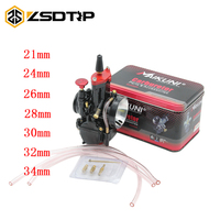 ZSDTRP Quality 21 24 26 28 30 32 34mm Universal Mikuni Maikuni PWK Carburetor Parts Scooters