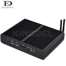 Новый Intel 5-го Поколения Core i7 5500U 5600U Mini PC Мини-Компьютер Windows 10 Мини-Пк 4 К HD HTPC Mini-Itx Mic TV box, 2 * HDMI, 2 * LAN