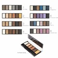 Sugar Box Professional Eyeshadow Palette 6 Colors  Glamorous Smokey Eye Shadow Palette Shimmer Colors Makeup Kit