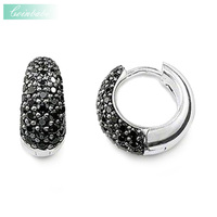 Hoop Earring Creole Trendy Gift For Women Ts High Quality Earring Thomas Style 925 Sterling Silver