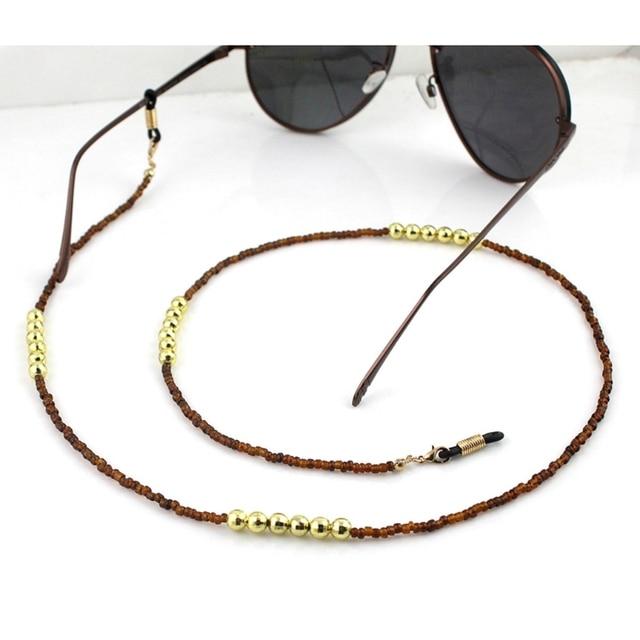 d32209951422 Reading Glasses Chain Beads Sunglasses Holder Neck Strap Eyewear Sports  Rope Eyewear Accessories Lanyards New