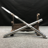 Все тело нержавеющей стали меч самообороны реквизит Главная ремесло дисплей домашнего декора