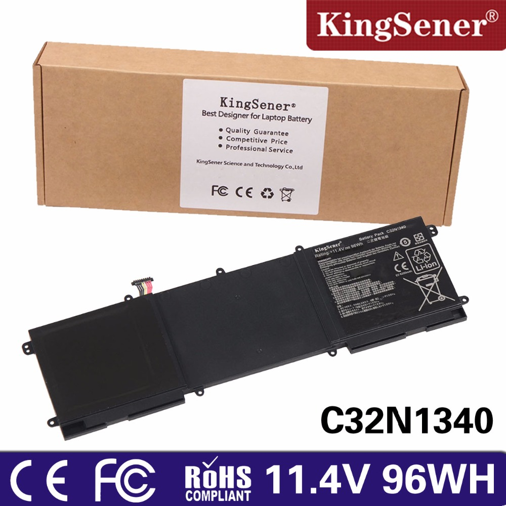 KingSener C32N1340 Laptop Battery For Asus Zenbook NX500 NX500J NX500JK Series 11.4V 96WH