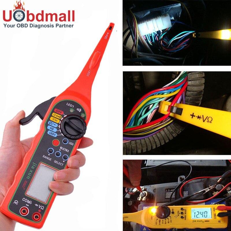 Prix pour Universel Automobile Électrique Circuit Testeur 0-380 V Automobile Multimètre Lampe Outil De Réparation De Voiture Avec LCD Écran D'affichage
