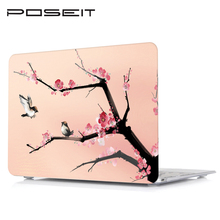 Plastic Case Laptop Shell Hard Cover+Keyboard Cover For Apple Macbook Air11 Air13 Pro Retina Touch Bar 12 13 15 inch все цены