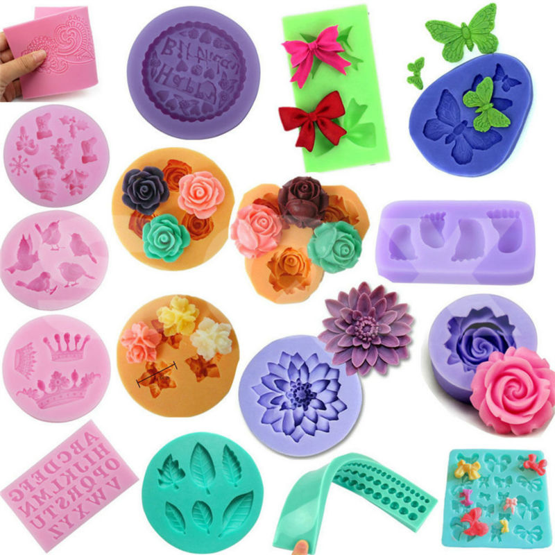 3D Lip Silicone Fondant Mold Candy Cake Chocolate Decorating Baking Mould Tools