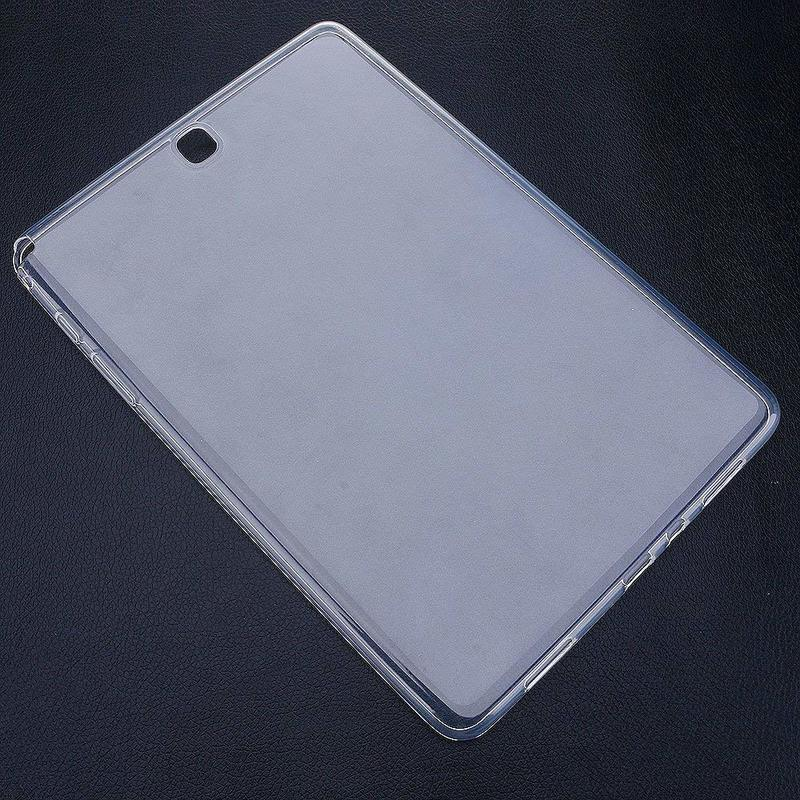 Case For Samsung Galaxy Tab A 9.7 SM-T550 T555 P550 P555 Cover Clear Transparent Case Soft TPU Back Tablet Case Tab A 9.7 T550