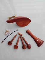 High end red sandalwood violin accessories