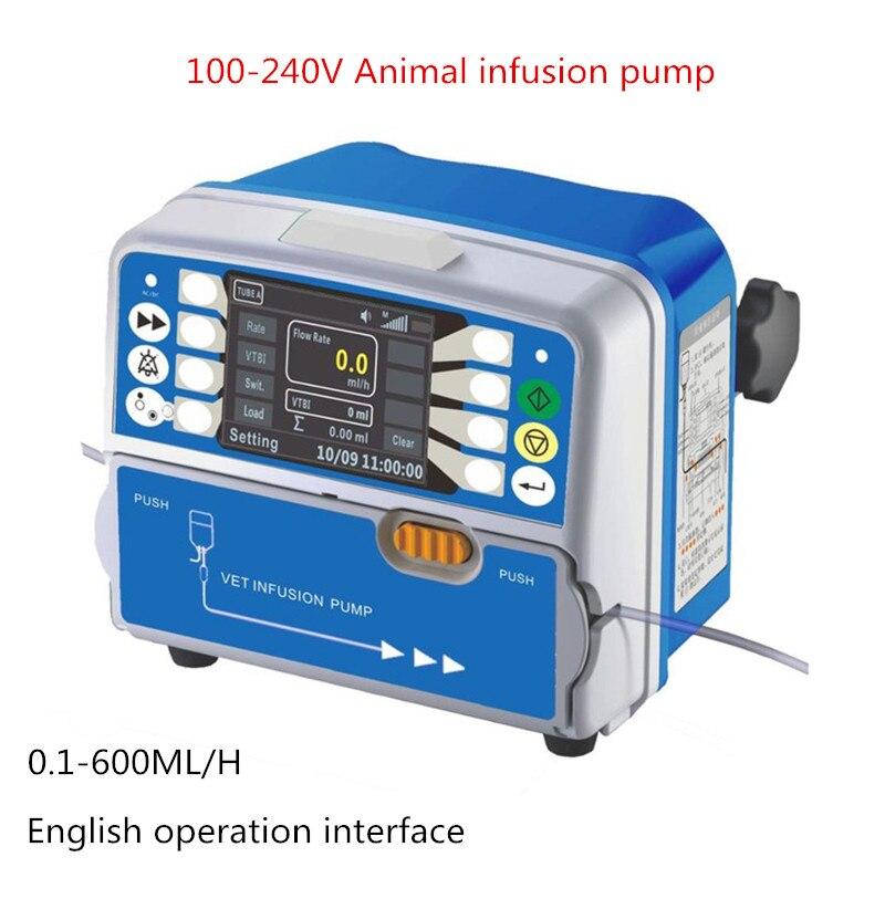 Bomba de infusão de profissionais do animal de Estimação Animal inteligente bomba de infusão HK-050 Y