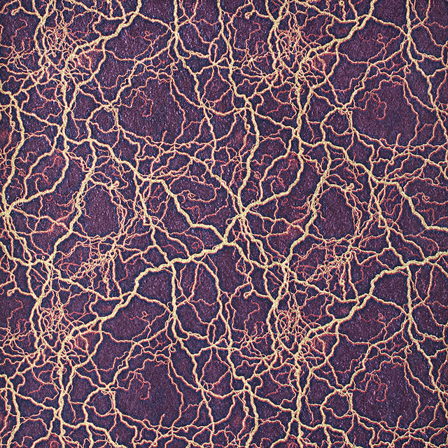 Modern 3D Lightning Style Wallpaper PVC Purple 3D Crack Wall Paper Rolls  Hotel KTV Living Room
