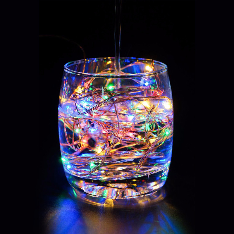 ... 9 Colors 5V USB Copper LED Round Wire LED Strip Lights Waterproof  Outdoor Garden Decoration Led ...