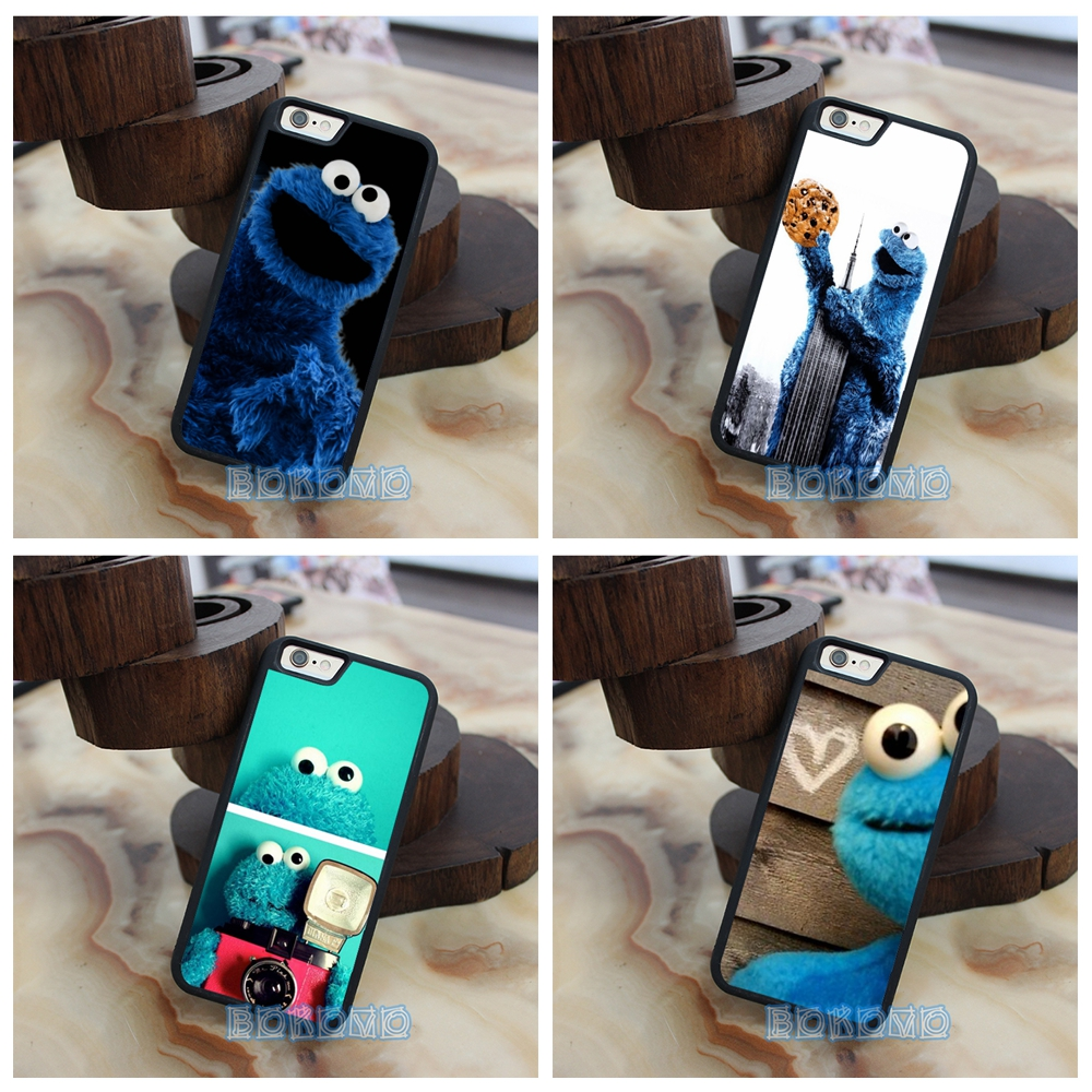 Elmo Smiley Face Cookie Monster cell phone case cover for iphone 4 4s 5 5s se 5c 4 4s 5 5s se 5c 6 6 plus 6s 6s plus 7 7 plus