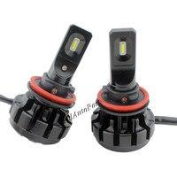 S1 V1 H11 H7 Car LED Headlight Bulbs 60W 7200LM P Hilips CSP H4LED Headlights All