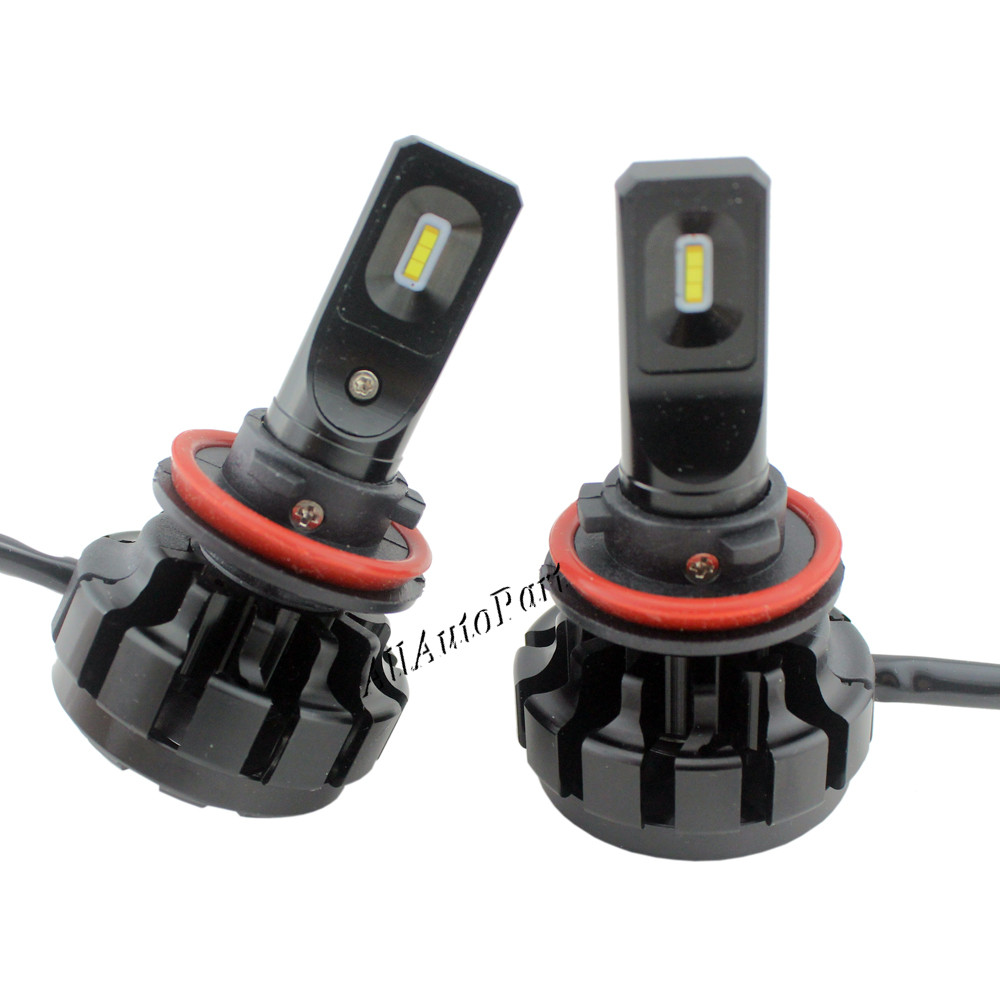 S1 V1 H11 H7 Car LED Headlight Bulbs 60W 7200LM P hilips CSP H4LED Headlights All in one Headlamp Automobile Fog Front Light 12V