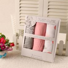 Детское Пеленальное Одеяло для малышей 3 упаковки мальчиков