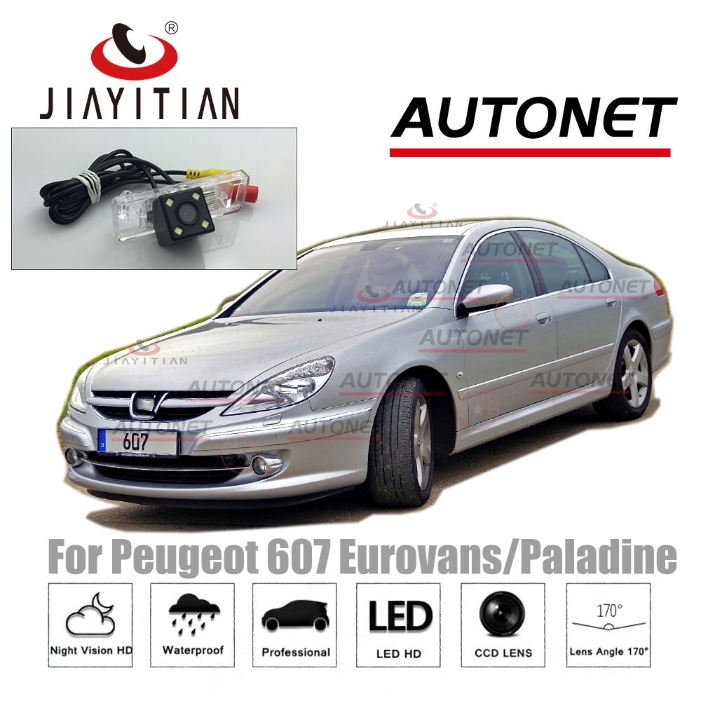 JiaYiTIan Rear Camera For Peugeot 607 Eurovans 607 Paladine/Backup camera Parking Camera/CCD Night Vision/License Plate camera