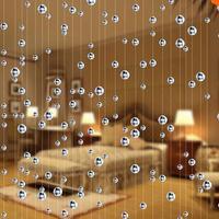 10 m Cristal verre perle Rideau De Mode Intérieur Décoration de La Maison De Luxe De Mariage toile de fond Décoration