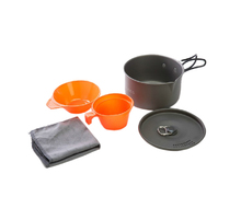 Alocs 1 2 People Cooking Pot Set Ultralight Camping Cook Set CW S03