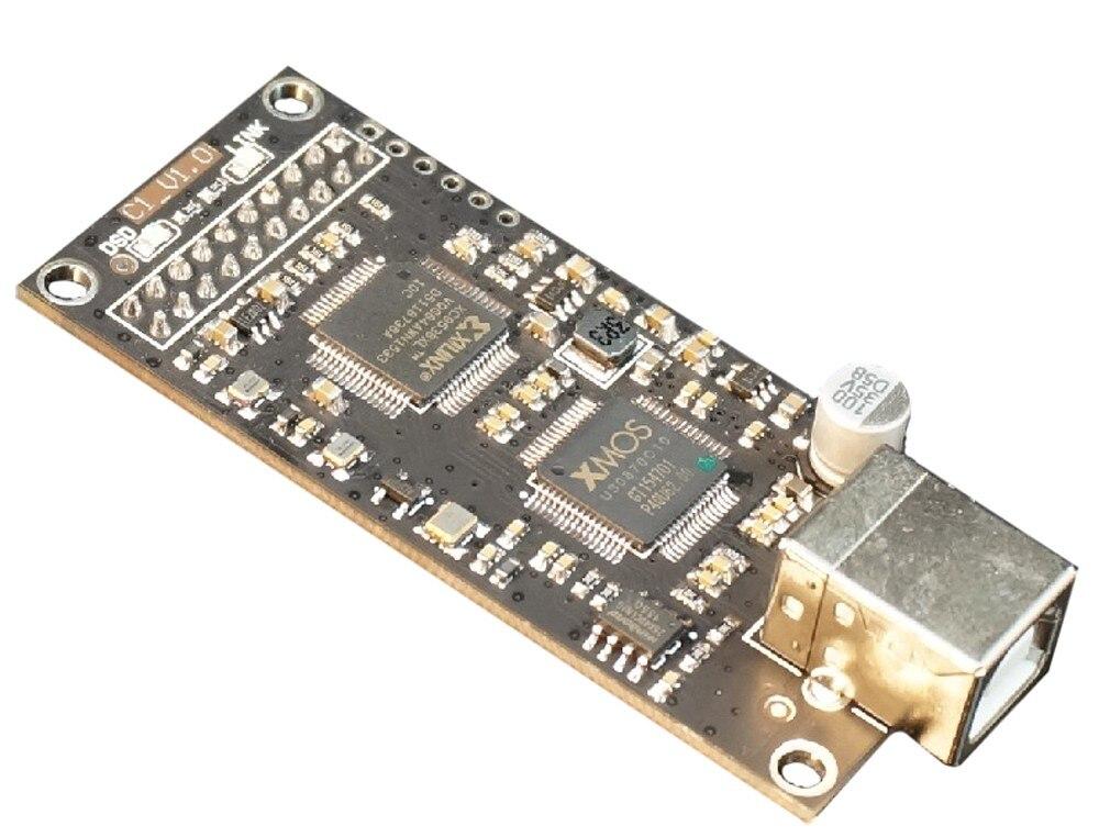 SINGXER C-1 XMOS Digital Interface Board XU208 U8 Upgraded Version Femtosecond TCXO xmos