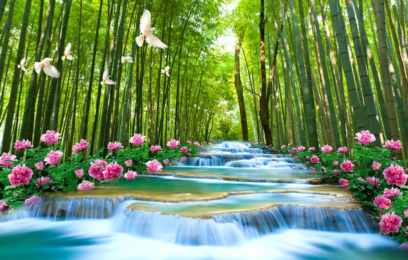 Chinese Bamboo Forest Fabric Reviews Online Shopping