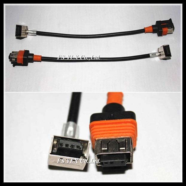Кабель для ксенонового светильника FSYLX D1S D1C D1R, ксеноновая балластная лампа D1 D3, штепсельная розетка, жгут проводов