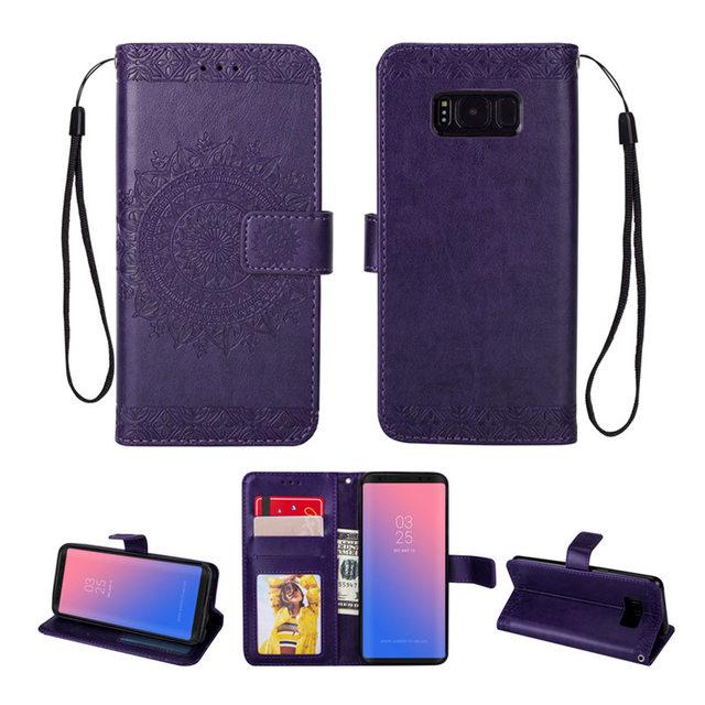 Leather Flip Wallet Phone Case