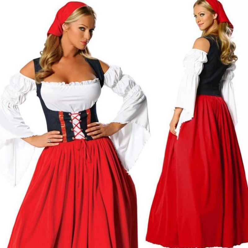 Plus size peasant dresses for women