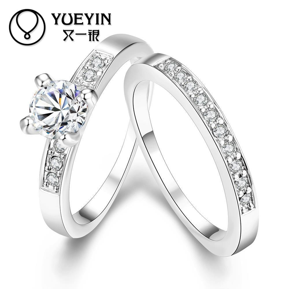 Engagement & Wedding 22k Solid Yellow Gold Wedding Women's Jewelry Set Earrings & Pendant Necklace Cz