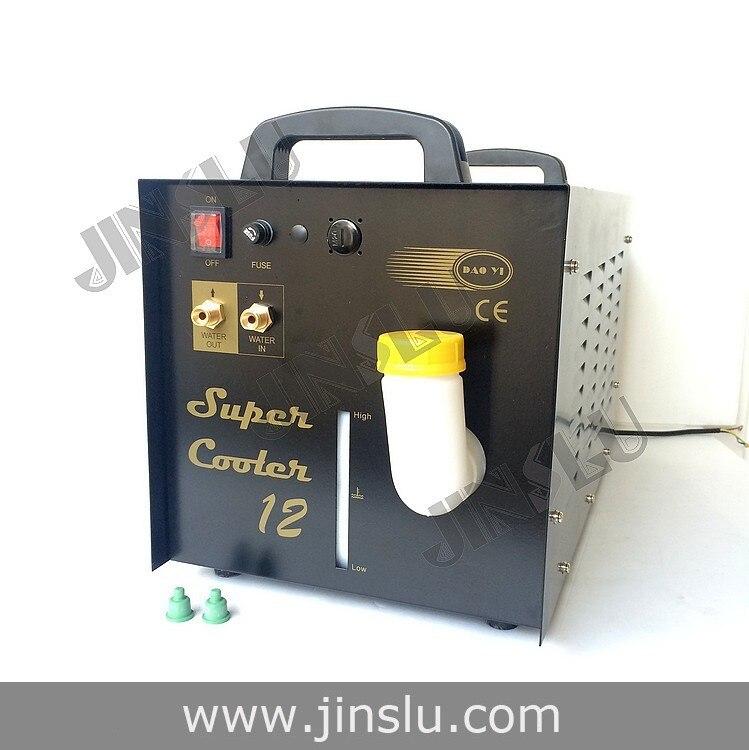 Welding Torch Plasma Water Cooling Tank Recirculator Chiller 15L for Welder Cutter