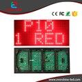 10mm 1/4 Scan P10 Al Aire Libre solo rojo color Epistar led mensaje pantalla Del módulo Del Panel de 320x160mm precio de fábrica de 32x16 píxeles