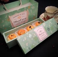 100pcs 24.2*7.2*5cm Macaron Paper Box Chocolate Cookie Cake Packaging Box Wedding Gift And Favor Box Free Shipping SN1163