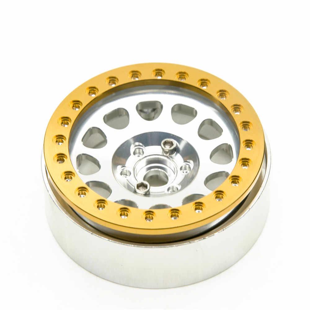 4 Stks 2.2 inch Wielen Ring Metaallegering Vervanging Wheel Beadlock ringen voor 2.2 inch Velg 1/10 RC Crawler Auto D90 SCX10