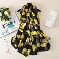 Women Fashion Silk Scarf Luxury Brand Femme Foulard Blanket Print Wrap & Shawl NEW [1619]