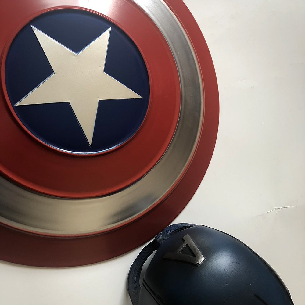 Captain America Shield Cosplay Avengers Endgame Captain America Costume Accessory Steve Rogers Shield Halloween Party Props4